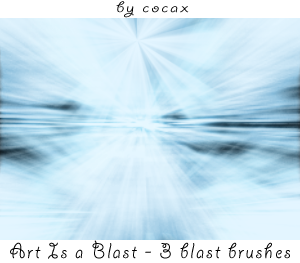 Art Is a Blast Brushes by Cocax
