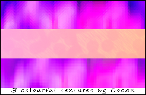 Colourful Textures Pack by Cocax