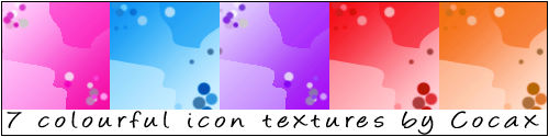 Colourful Icon Textures Pack