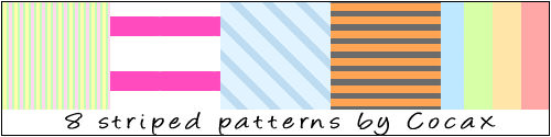 8 Striped Patterns Pack
