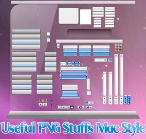 Mac Style Stuffs PNG