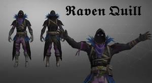 Fortnite - Raven Quill [Xps/Xnalara Download]