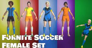 Fortnite Soccer - Female Set
