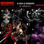 1 Marvel Comics  Render  Pack