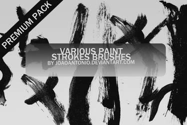 Paint Stroke Brushes by JoaoAntonio