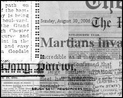 Newspaper Brushes by JoaoAntonio