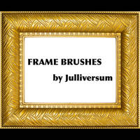 HIGH RES Frame Brushes by Julliversum