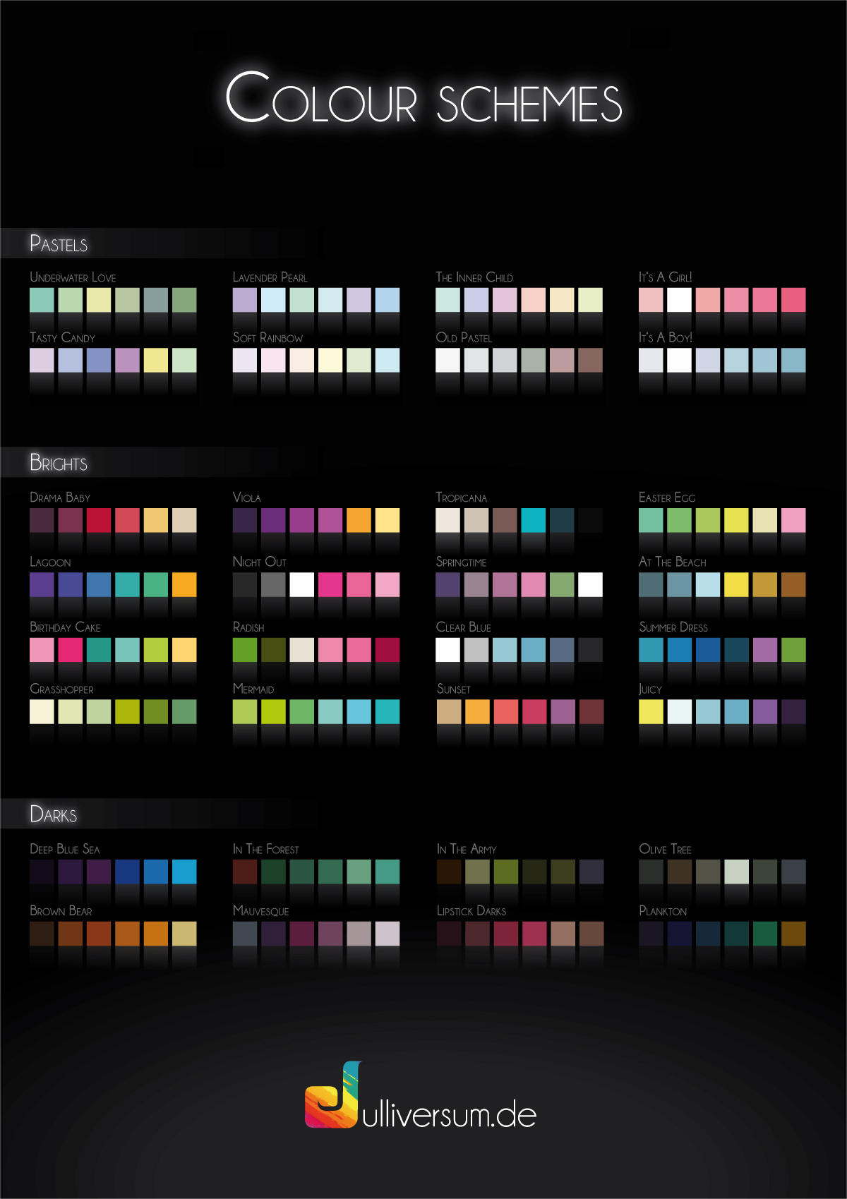 Colour Schemes by Julliversum