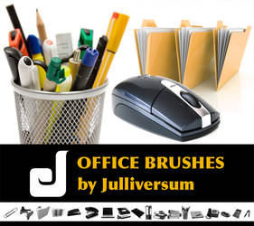 HIGH RES Office Brushes
