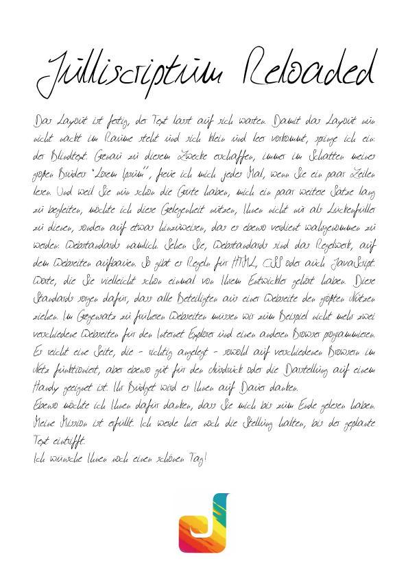 Julliscriptum Font by Julliversum