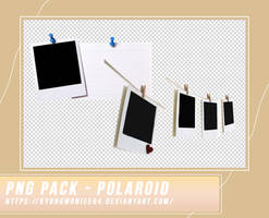 PNG PACK - POLAROID BY KWNIEE