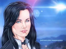 Mass Effect Miranda by Eromaxi