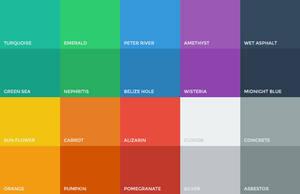 Flat UI Colors (Photoshop Swatches .ACO)