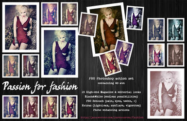 Passion for Fashion PS Action by mutato-nomine