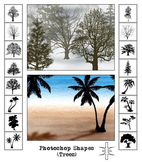 Photoshop Shapes v.6+7+CS