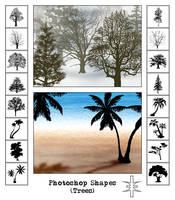 Photoshop Shapes v.6+7+CS by mutato-nomine