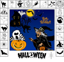 Photoshop Shapes - Halloween by mutato-nomine
