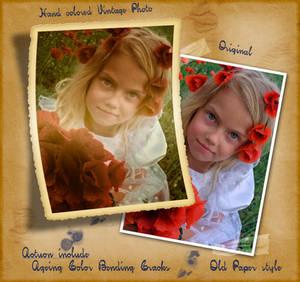 Hand-colored Vintage Photo ATN