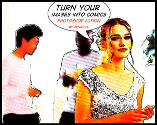Comics Photoshop action by mutato-nomine