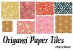 Origami Paper Tiles