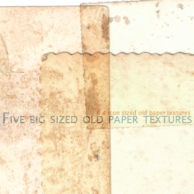 Papel Velho Texture Set 2 by likeacloud