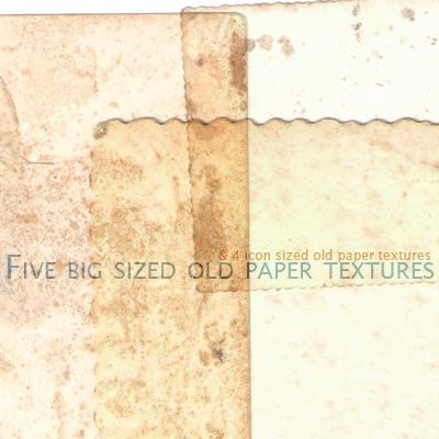 Papel Velho Texture Set 2 by likeacloud