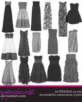 Strapless Dresses by sWeetRaiNbowCaK3