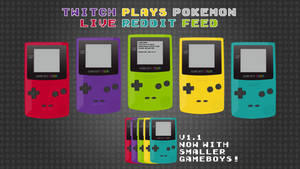 Twitch Plays Pokemon GameBoy Feed