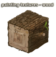 painting textures - wood - video by vesner