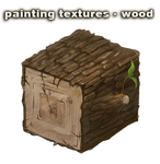 painting textures - wood - video