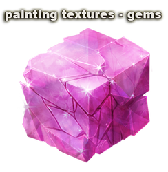 painting textures - gems by vesner