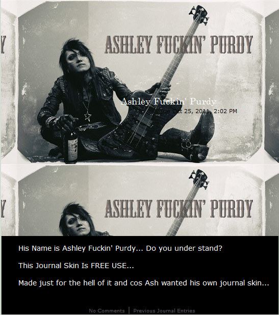 Ashley Fuckin' Purdy Skin by UnderAbigailsRose
