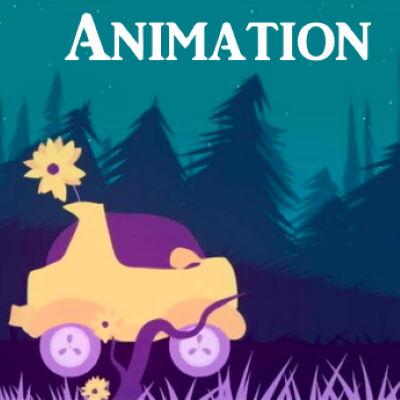 Animation - Une voiture dans la nuit