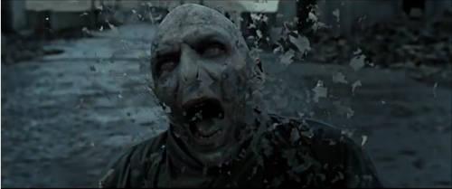 Voldemort's death | Gif