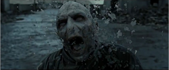 Voldemort's death | Gif