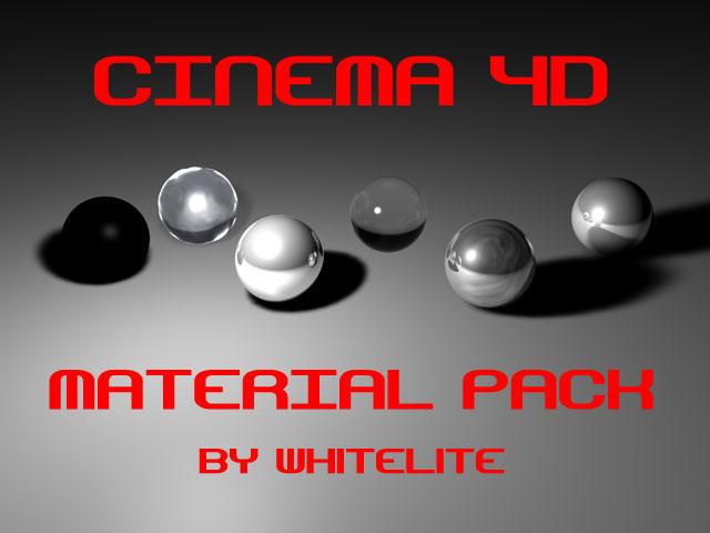 wh1tel1te's C4D Material Pack by wh1tel1te