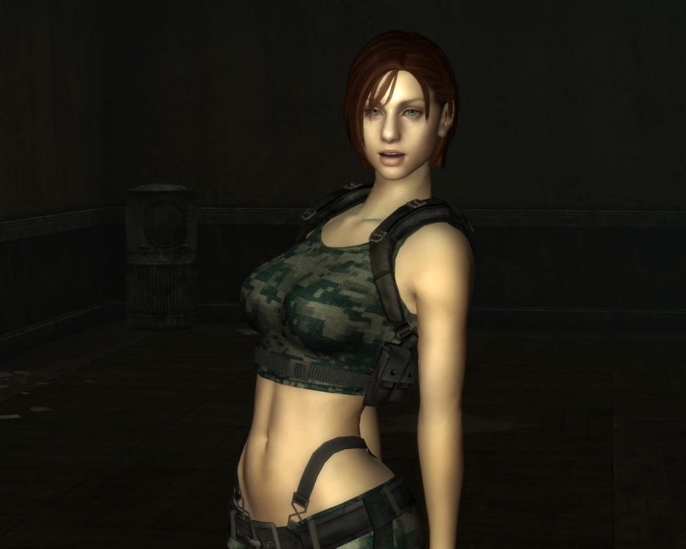 Fallout New Vegas - Jill Valentine Mod Release 1.3 by lsquall