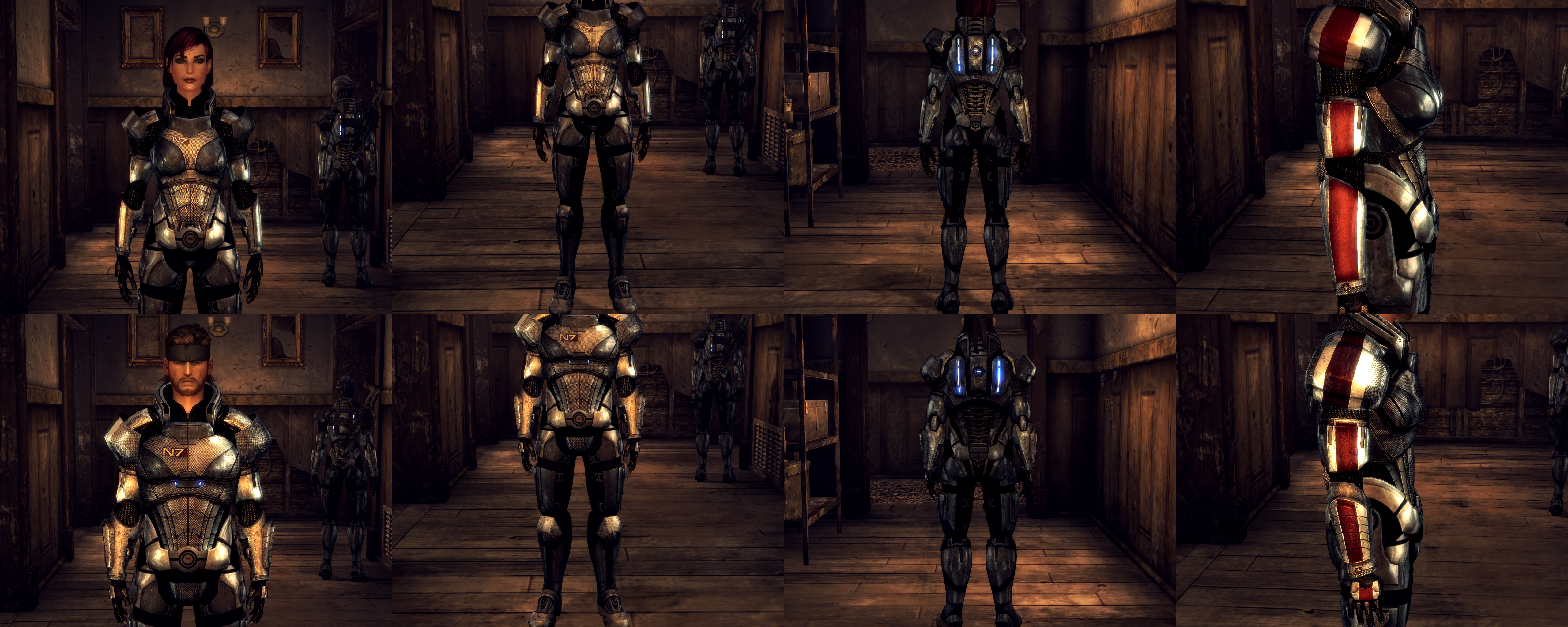 Fallout New Vegas Commander Shepard S N7 Armor By Lsquall