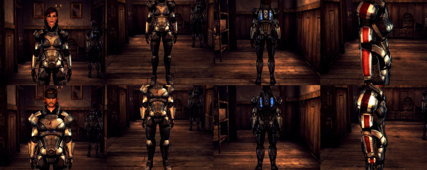 Fallout New Vegas - Commander Shepard's N7 Armor by lsquall