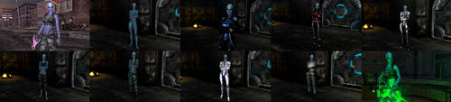Fallout New Vegas MOD:Asari Project - Liara T'Soni by lsquall