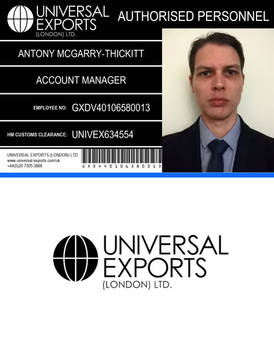 Universal Exports ID Card