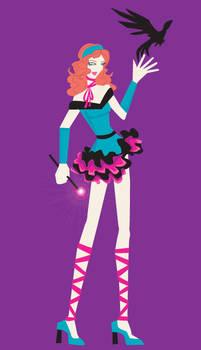 Magical Girl Chara Design