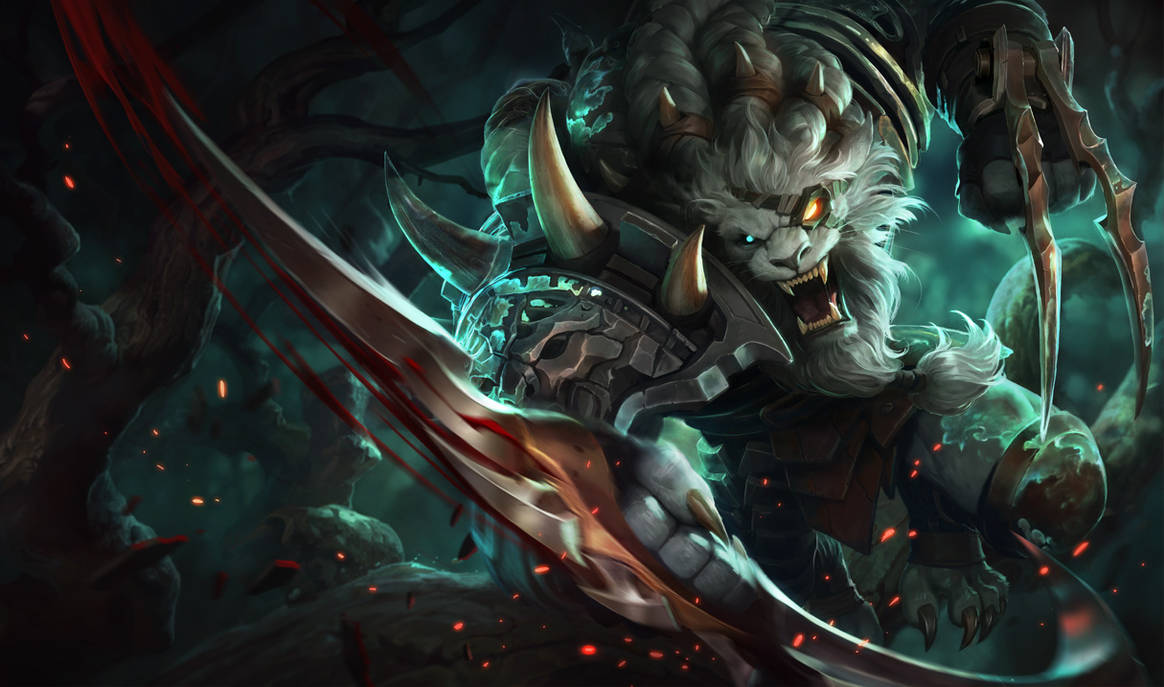League Of Legends Rengar Wallpaper Animated By Cjxander On