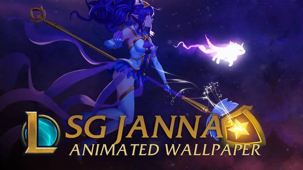 Star Guardian Janna - Animated Wallpaper