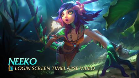 Neeko Login Screen by CJXander