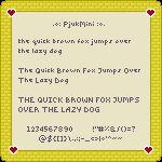 PjukMini Pixel Font