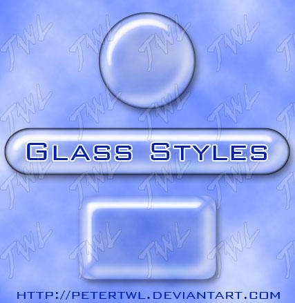Transparent Glass Style for PS by PeterTWL