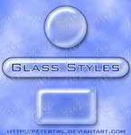 Transparent Glass Style for PS