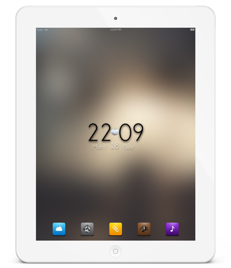 iPad2 : Simple SB by heyisTi
