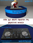[DL] DJProps - Booth and Controller